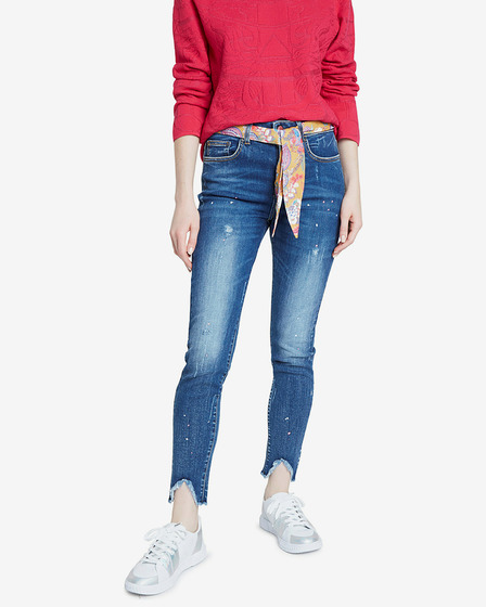 Desigual Denim Rainbow Dżinsy