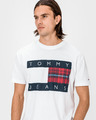 Tommy Jeans Plaid Centre Flag Koszulka