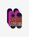 Converse Ombre Colorblock Archive Leopard MFC Ox 3-pack Skarpetki