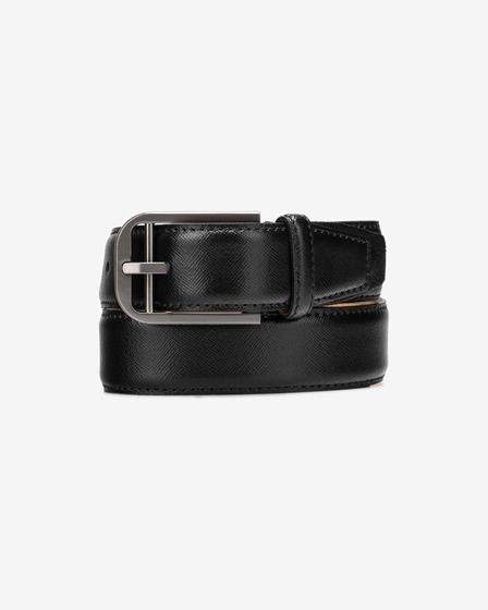Calvin Klein Double Bar Buckle Pasek